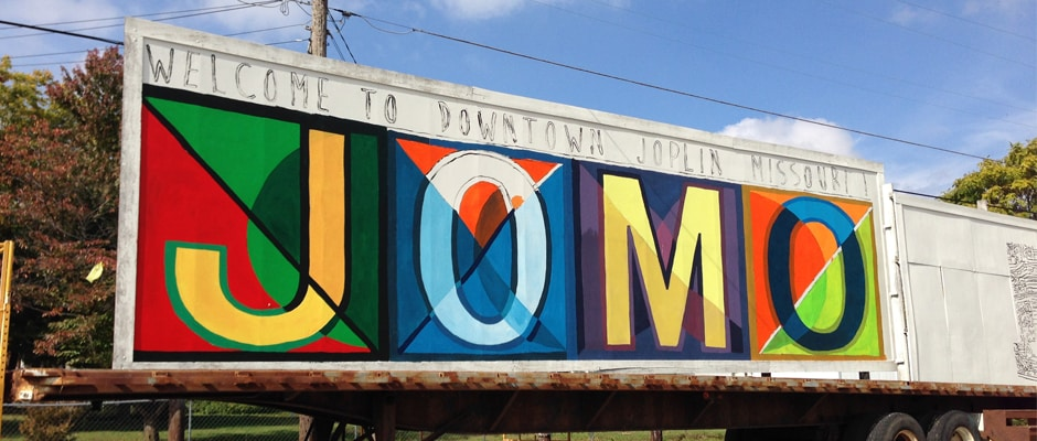 Welcome to Downtown Joplin Missouri Mural