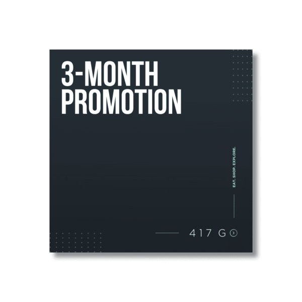 3-Month Promotion 1