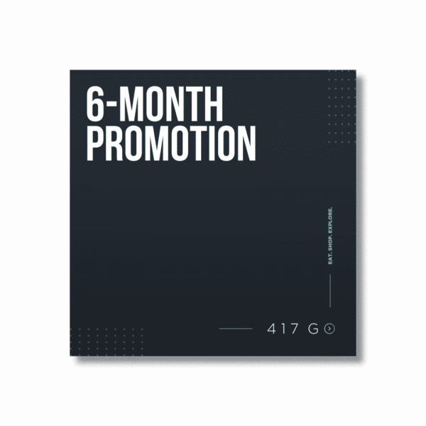 6-Month Promotion 1