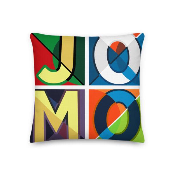 JOMO 18x18 Premium Pillow 1