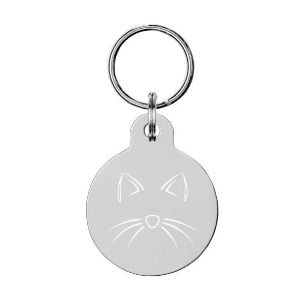 Nine Lives Custom engraved Cat ID tag 2