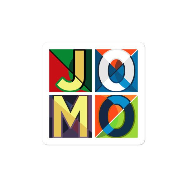 JOMO Bubble-free sticker 1
