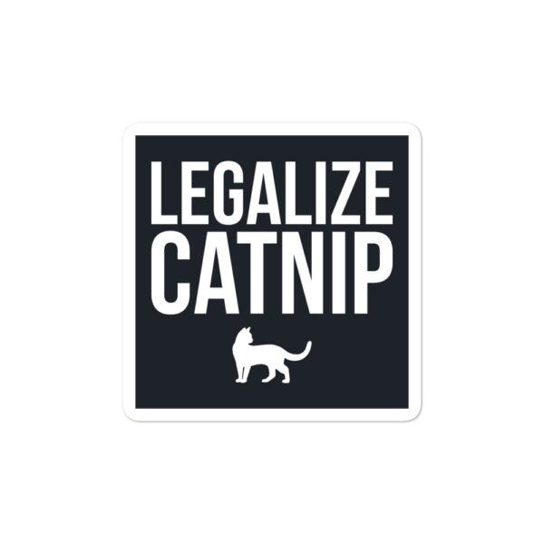 Nine Lives Legalize Catnip Bubble-free sticker 1