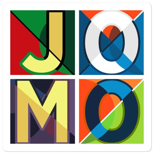 JOMO Bubble-free sticker 2