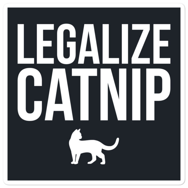Nine Lives Legalize Catnip Bubble-free sticker 2