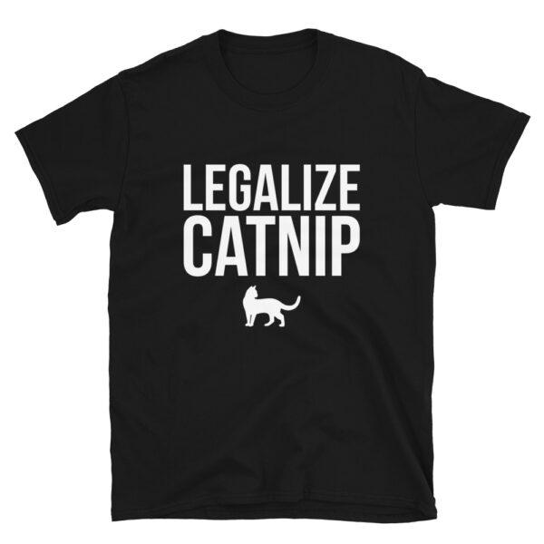Nine Lives Legalize Catnip Short-Sleeve T-Shirt 1