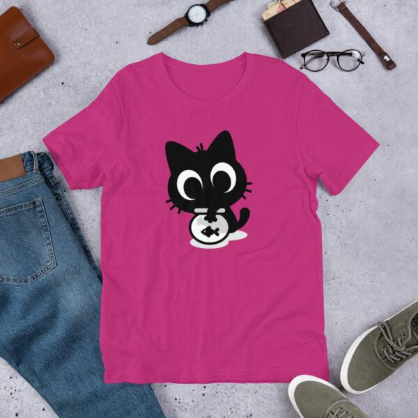 Nine Lives Cat Fish Short-Sleeve T-Shirt 2