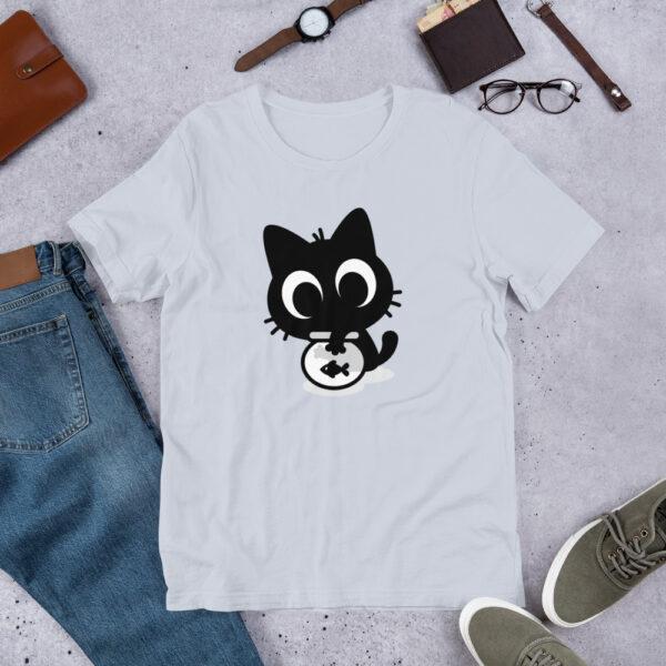 Nine Lives Cat Fish Short-Sleeve T-Shirt 5