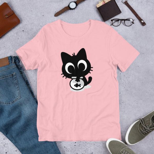 Nine Lives Cat Fish Short-Sleeve T-Shirt 4