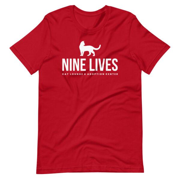 Nine Lives Logo Short-Sleeve T-Shirt (Multiple Colors) 4