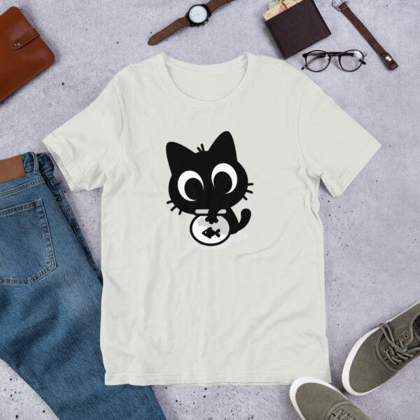 Nine Lives Cat Fish Short-Sleeve T-Shirt 6