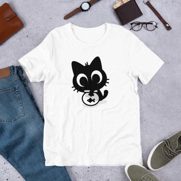 Nine Lives Cat Fish Short-Sleeve T-Shirt 1
