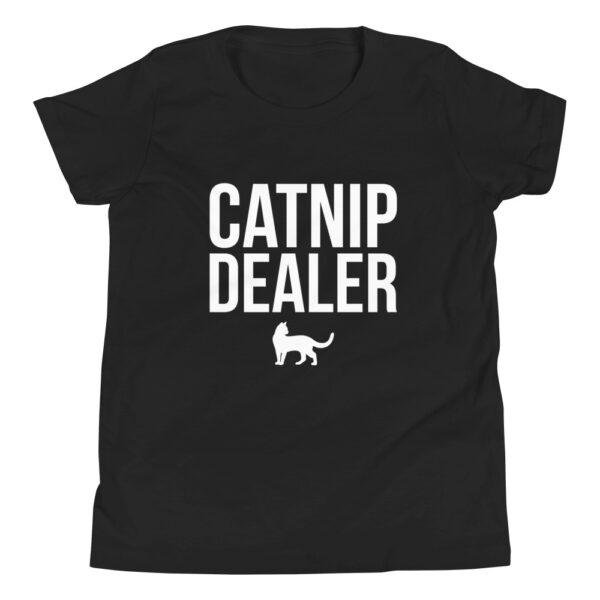 Nine Lives Catnip Dealer Youth Short Sleeve T-Shirt 1