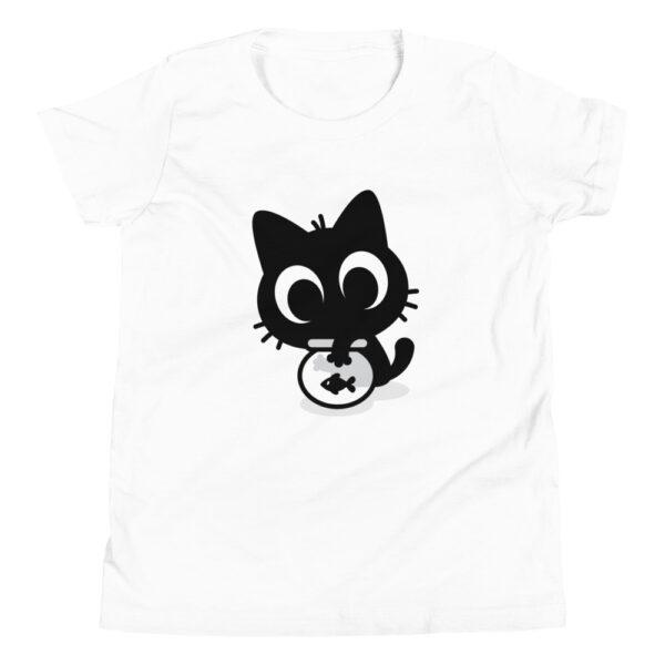 Nine Lives Cat Fish Youth Short Sleeve T-Shirt 4