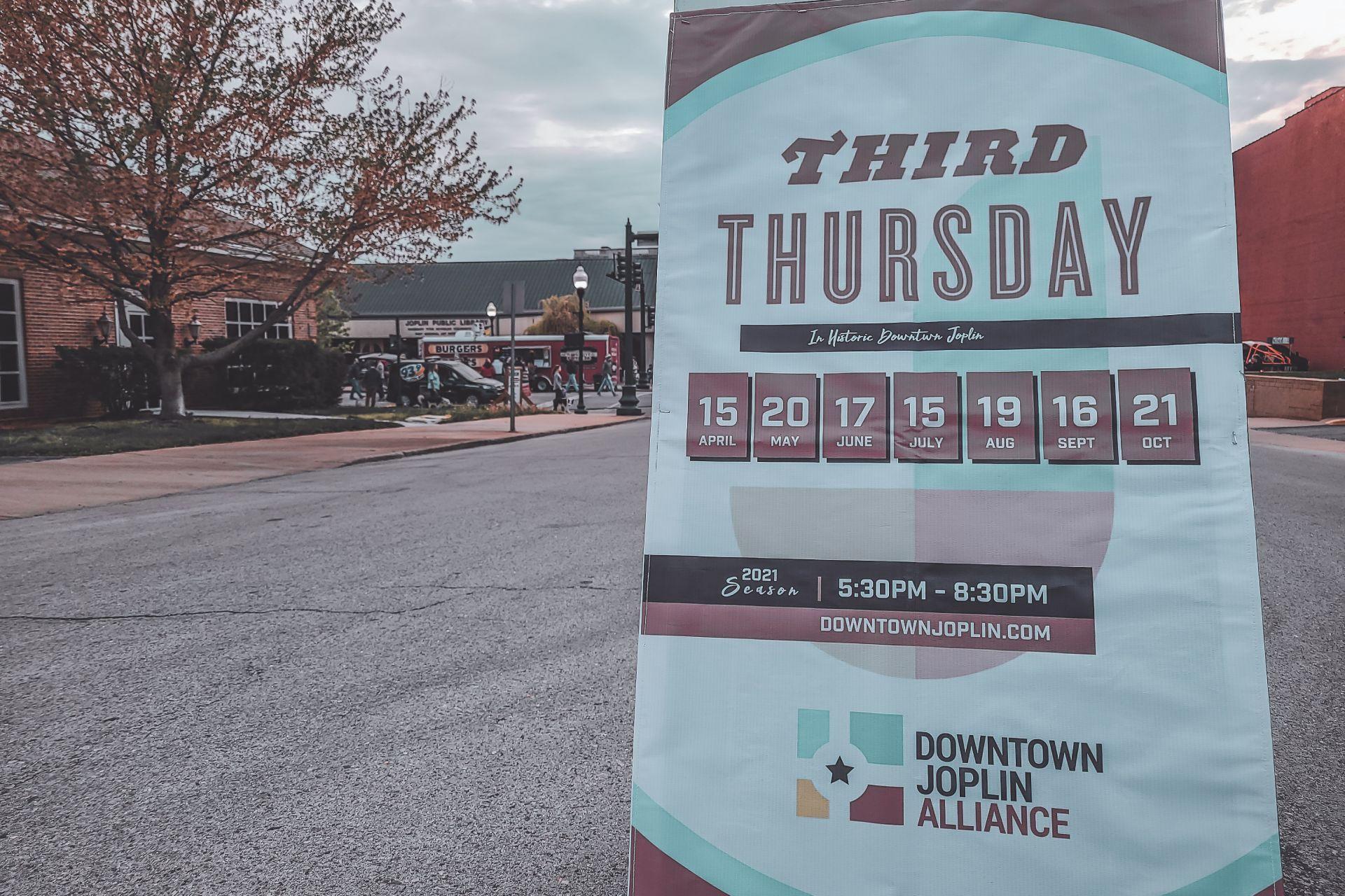 Third Thursday comes back to Joplin. 1