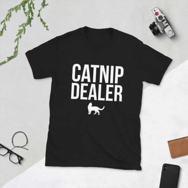 Nine Lives Catnip Dealer Short-Sleeve T-Shirt 1